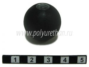 Polyurethane vented ball (M8), type 1  ― Polyurethan The outside appearance of the product may not be the same as in the image. We are constantly upgrading our products to improve their quality